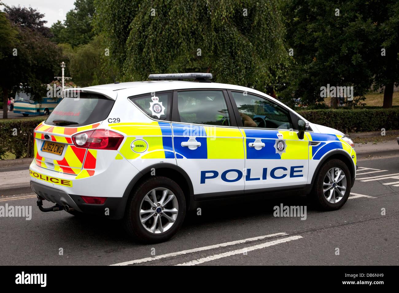 british transport police car close to york railway station. Black Bedroom Furniture Sets. Home Design Ideas