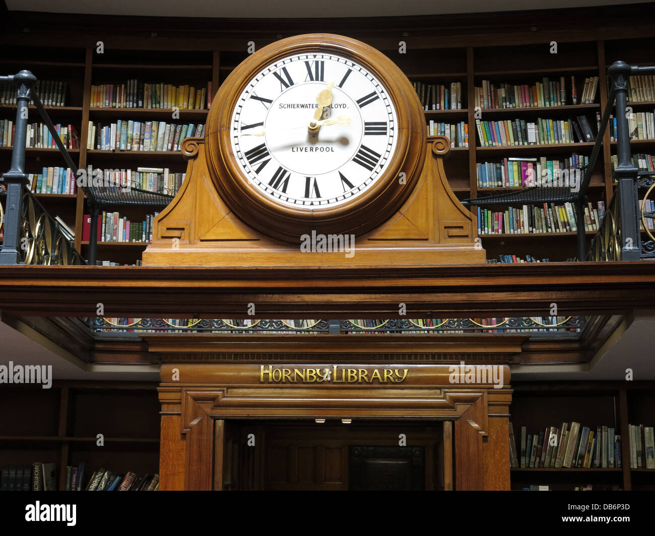 Liverpool Central Library - Stock Image