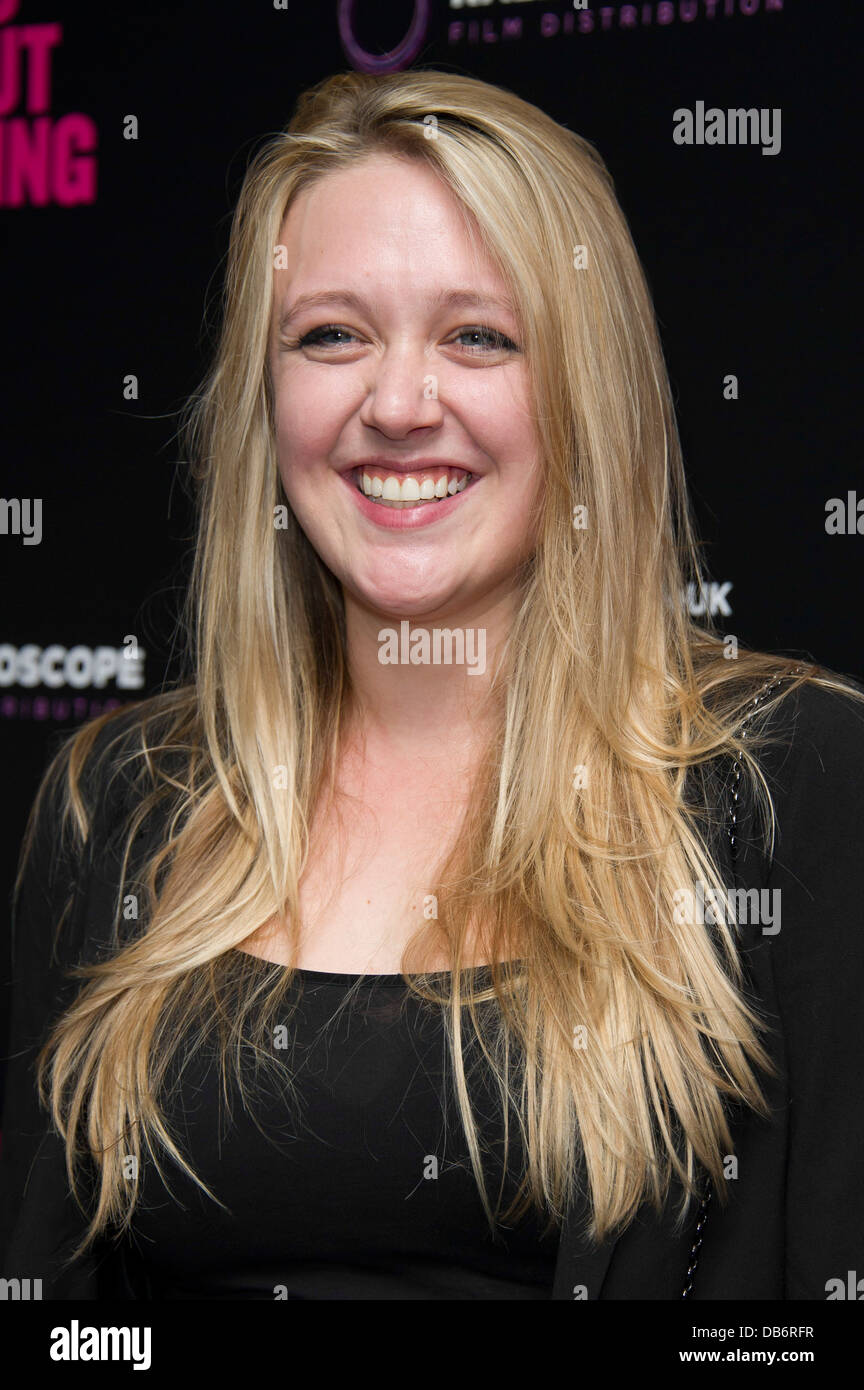 Emily Head arrives for the UK Premiere of 'Much Ado About Nothing', London, Tuesday, June. 11, 2013. - Stock Image