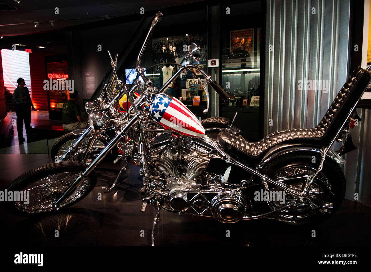 Harley Davidson Milwaukee >> Easy Rider Chopper At The Harley Davidson Museum Milwaukee