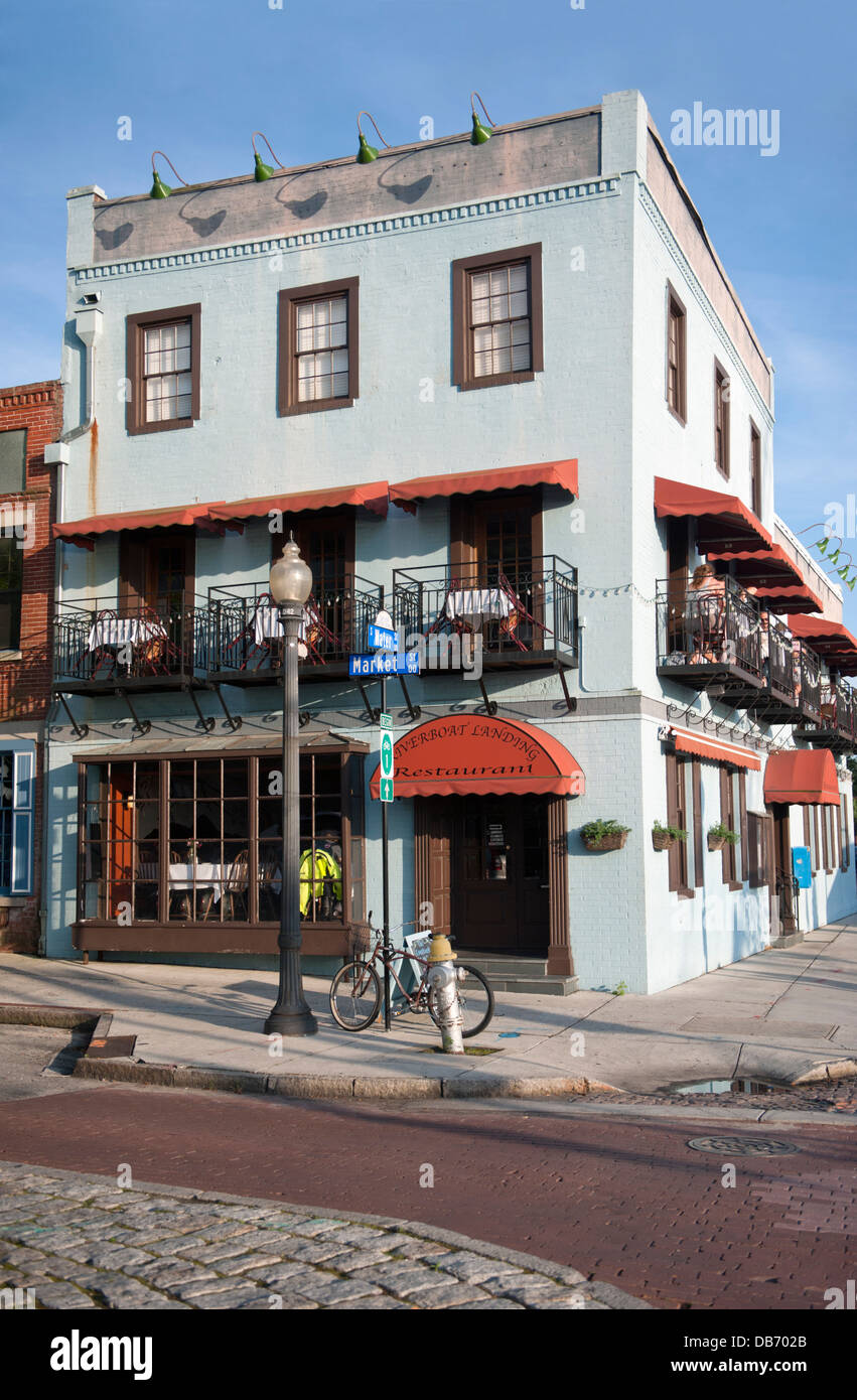 The Riverboat Landing Restaurant In Historic Downtown Wilmington