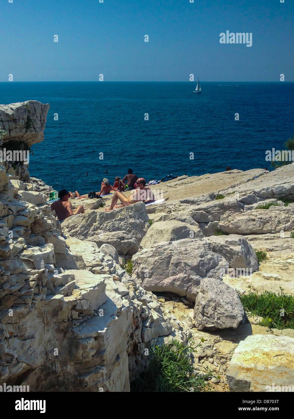 Gay Beach Marseille