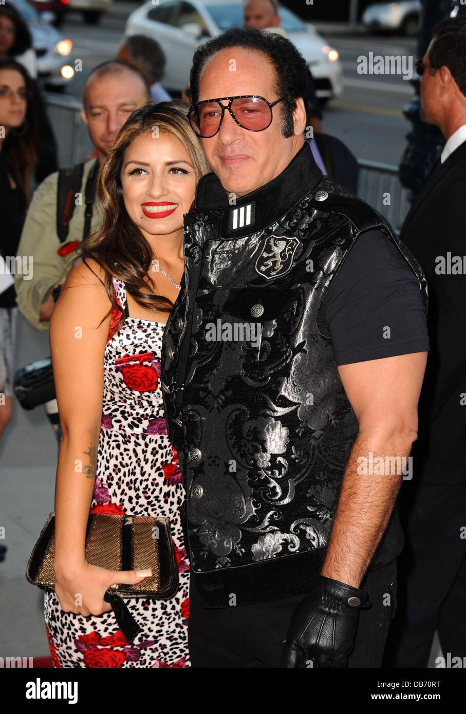 Los Angeles, CA. 24th July, 2013. Andrew Dice Clay ...