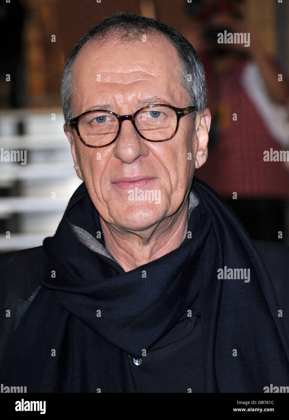 Geoffrey Rush 'Pirates Of The Caribbean: On Stranger Tides' World Premiere held at Disneyland Anaheim, California - Stock Image
