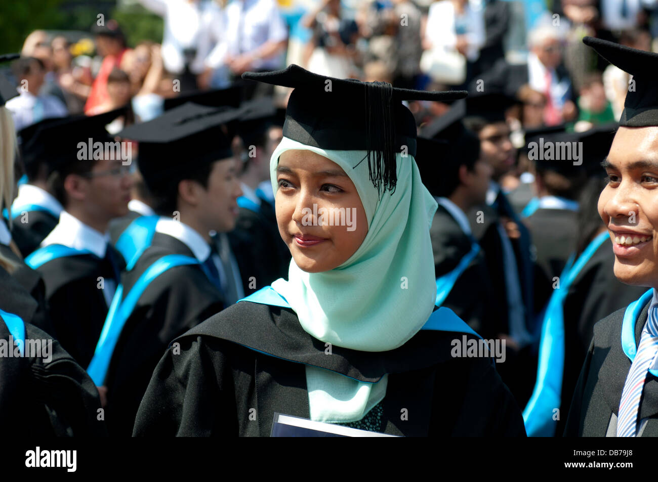 University of Warwick graduation day, UK - Stock Image