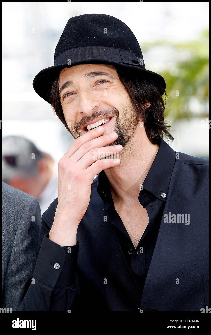 Adrien Brody  2011 Cannes International Film Festival - Day 1 - Midnight In Paris - Photocall  Cannes, France - - Stock Image