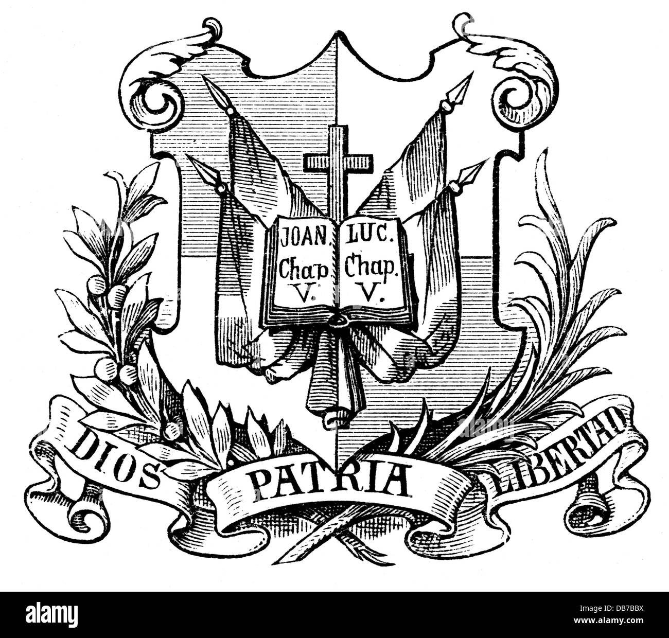 Heraldry Coat Of Arms Dominican Republic National Coat Of Arms Wood