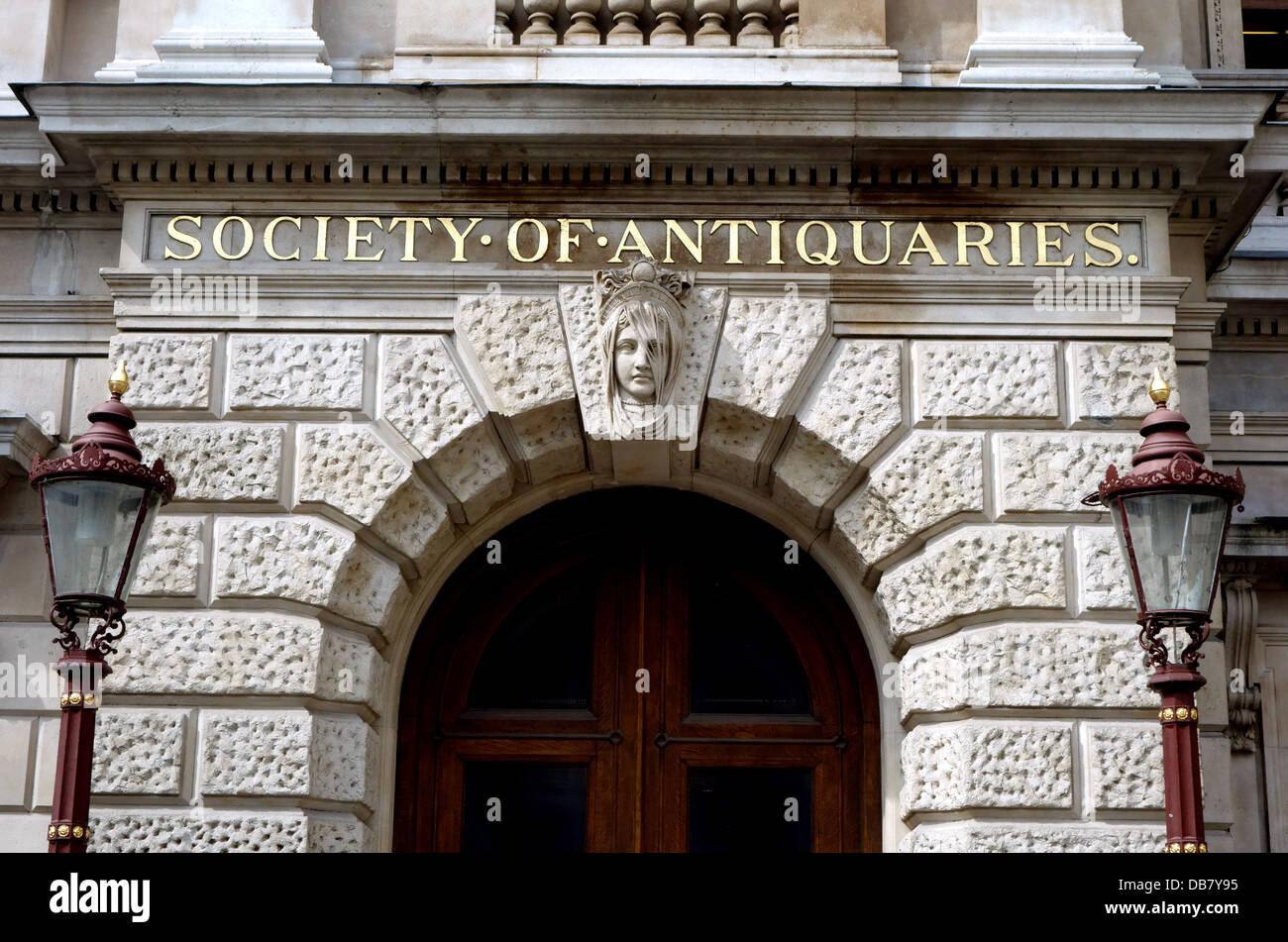 Society of Antiquaries, Piccadilly, London - Stock Image