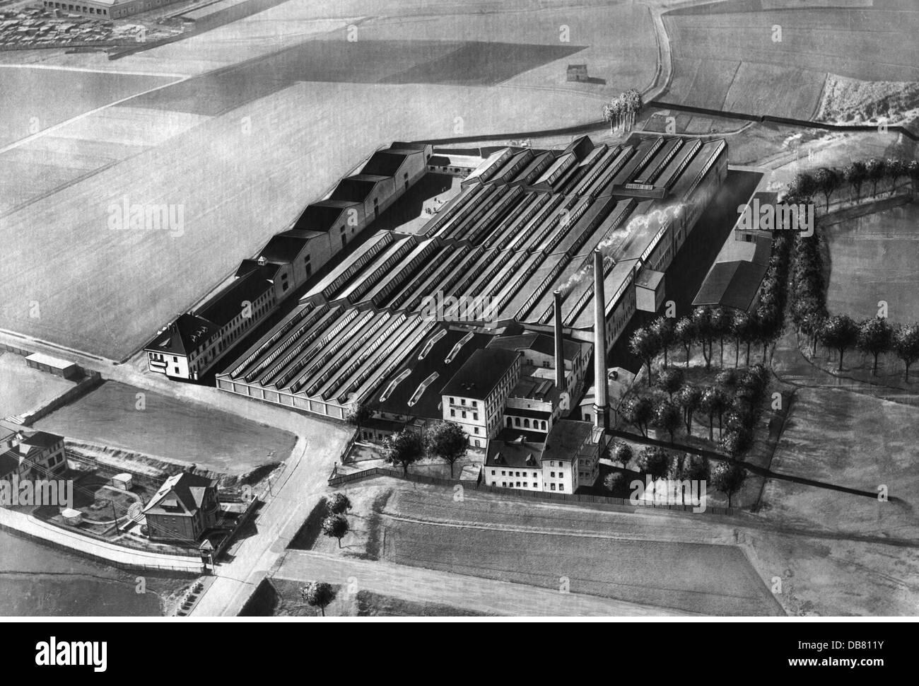 geography / travel, Germany, Bautzen, buildings, jute mill of the Vereinigte Jute-Spinnereien und Webereien AG, - Stock Image