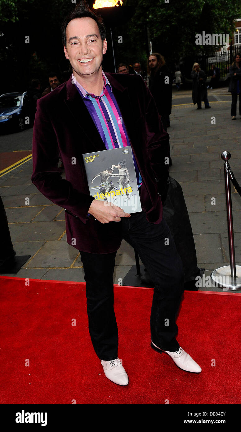 Craig Revell Horwood  Attends the press night of Cleopatra: Northern   Ballet at Sadlers Wells theatre, London, - Stock Image
