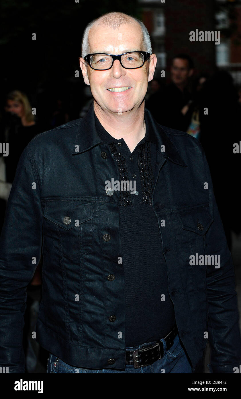 Neil Tennant (Pet Shop Boys)  Attends the press night of Cleopatra: Northern   Ballet at Sadlers Wells theatre, - Stock Image