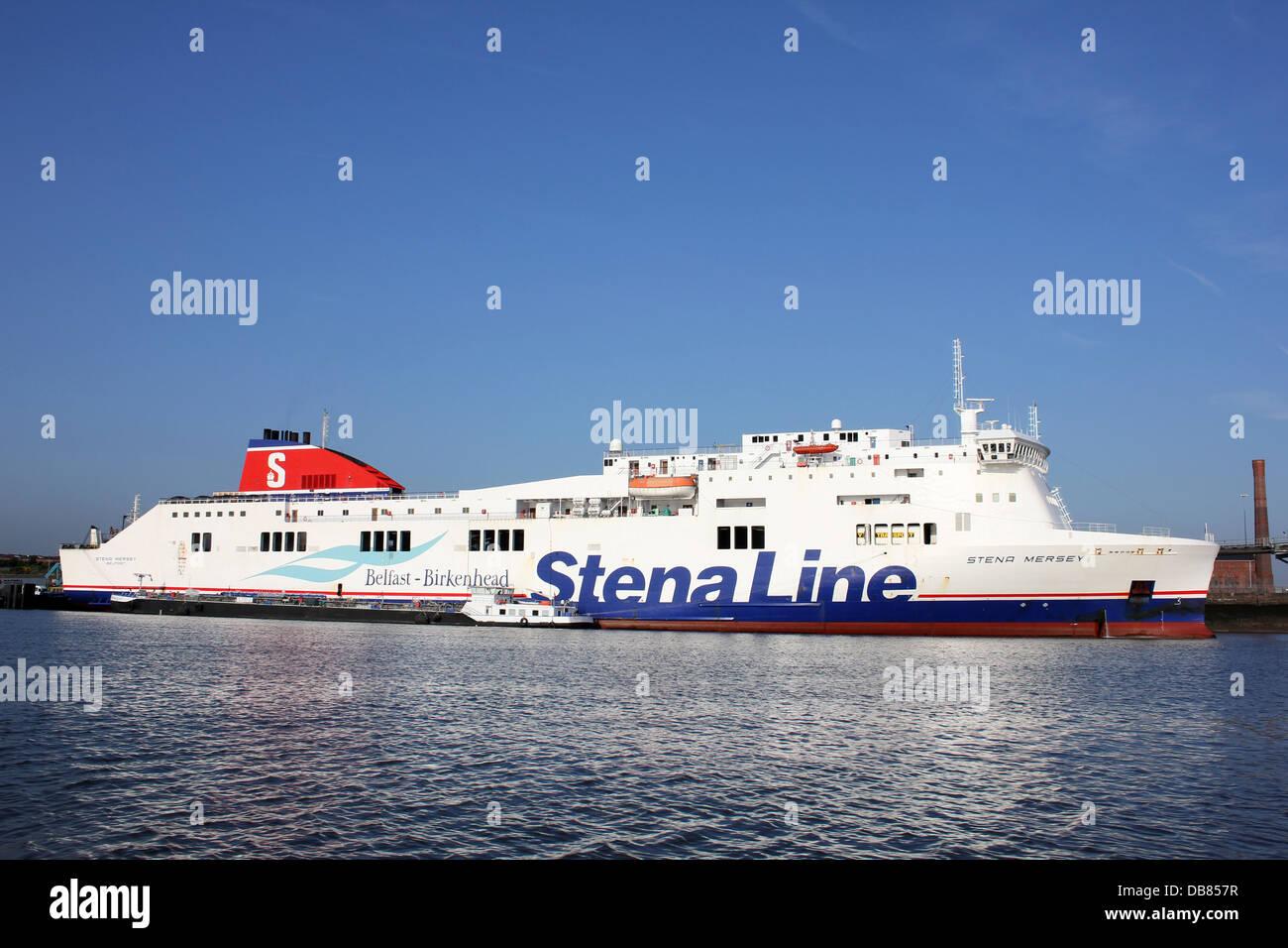 Stena Line Belfast to Birkenhead Ferry - Stock Image