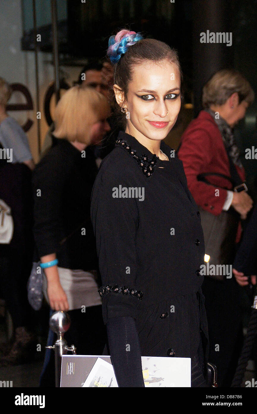 Alice Dellal at the Northern Ballet's press night of 'Cleopatra' at Saddlers Wells Theatre - Arrivals - Stock Image