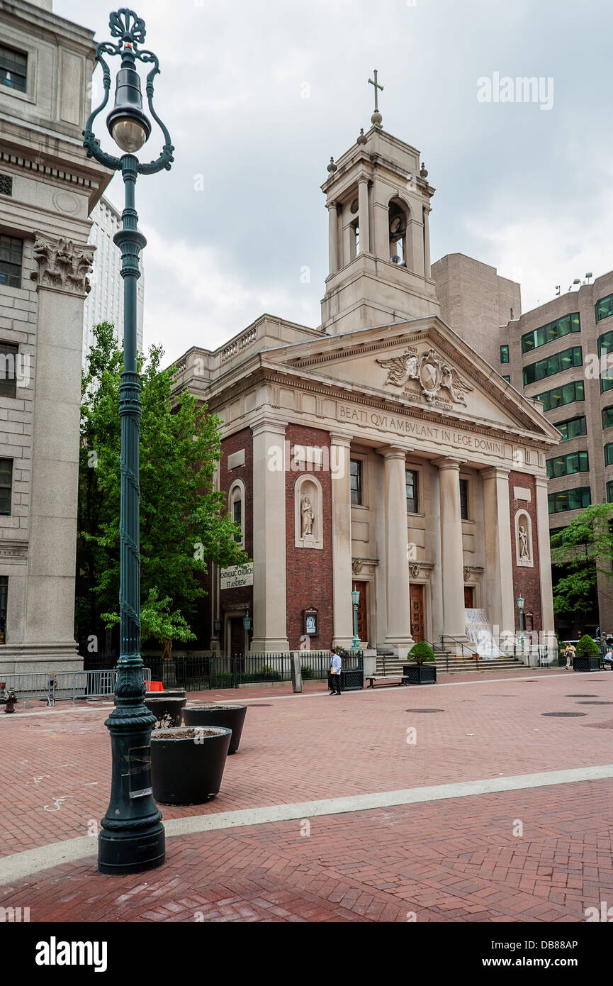 The Catholic Church Of St Andrew New York City