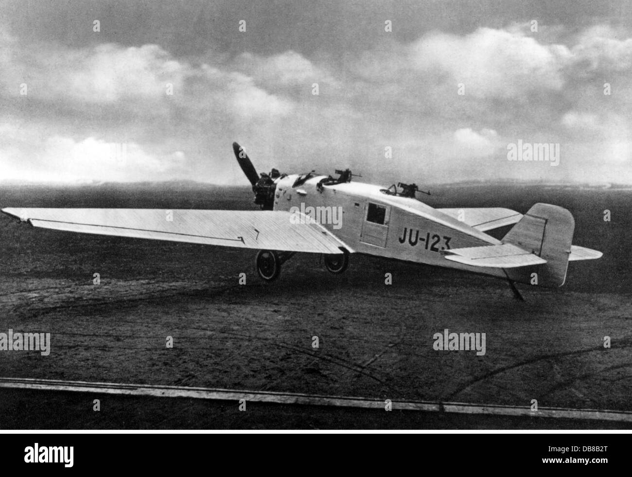 transport / transportation, aviation, military, aeroplanes, Junkers K 43fa of the Finnish armed forces, 1930s, Additional - Stock Image