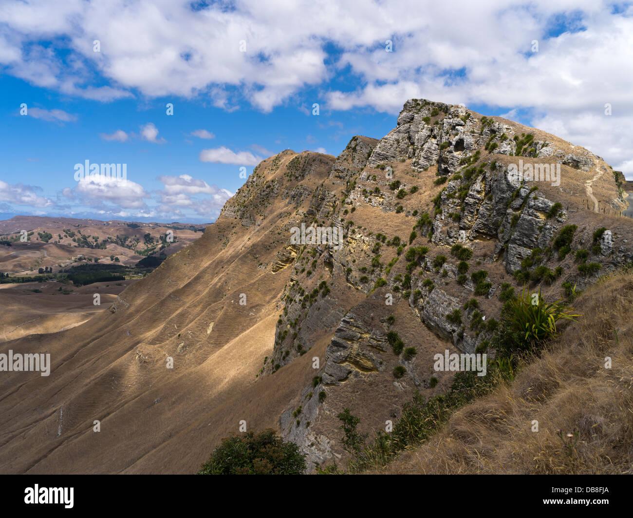 dh Te mata Peak HAWKES BAY NEW ZEALAND Te Mata hill range - Stock Image