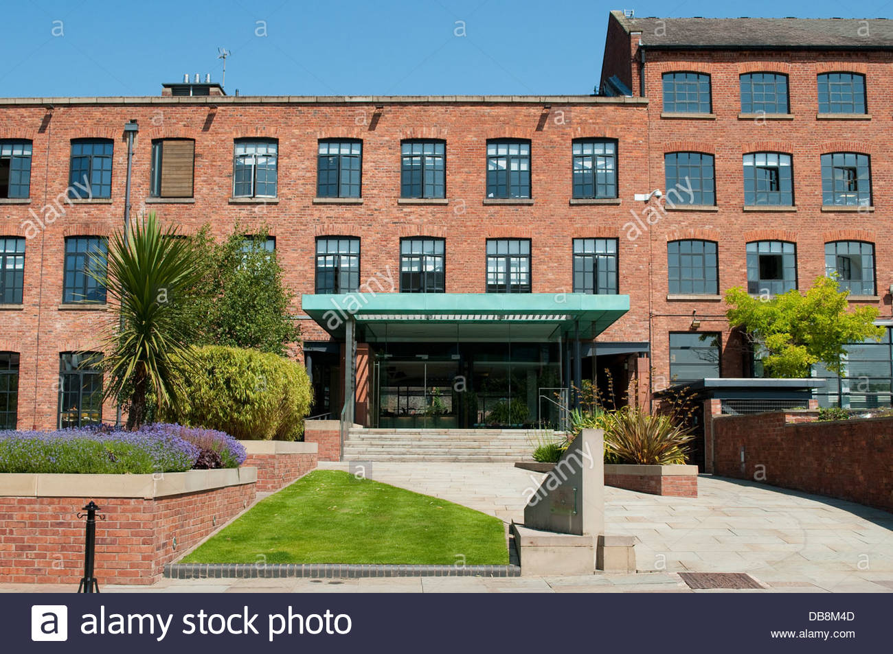 Commercial property, Castlefield, Manchester, UK - Stock Image