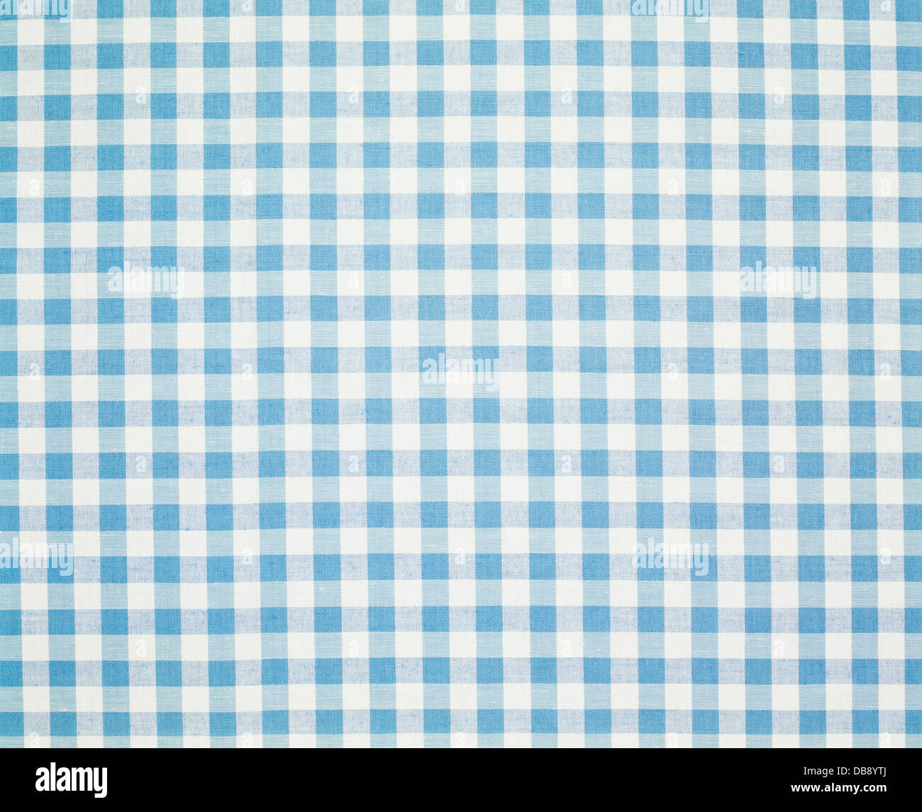 Blue Checked Gingham Tablecloth Background