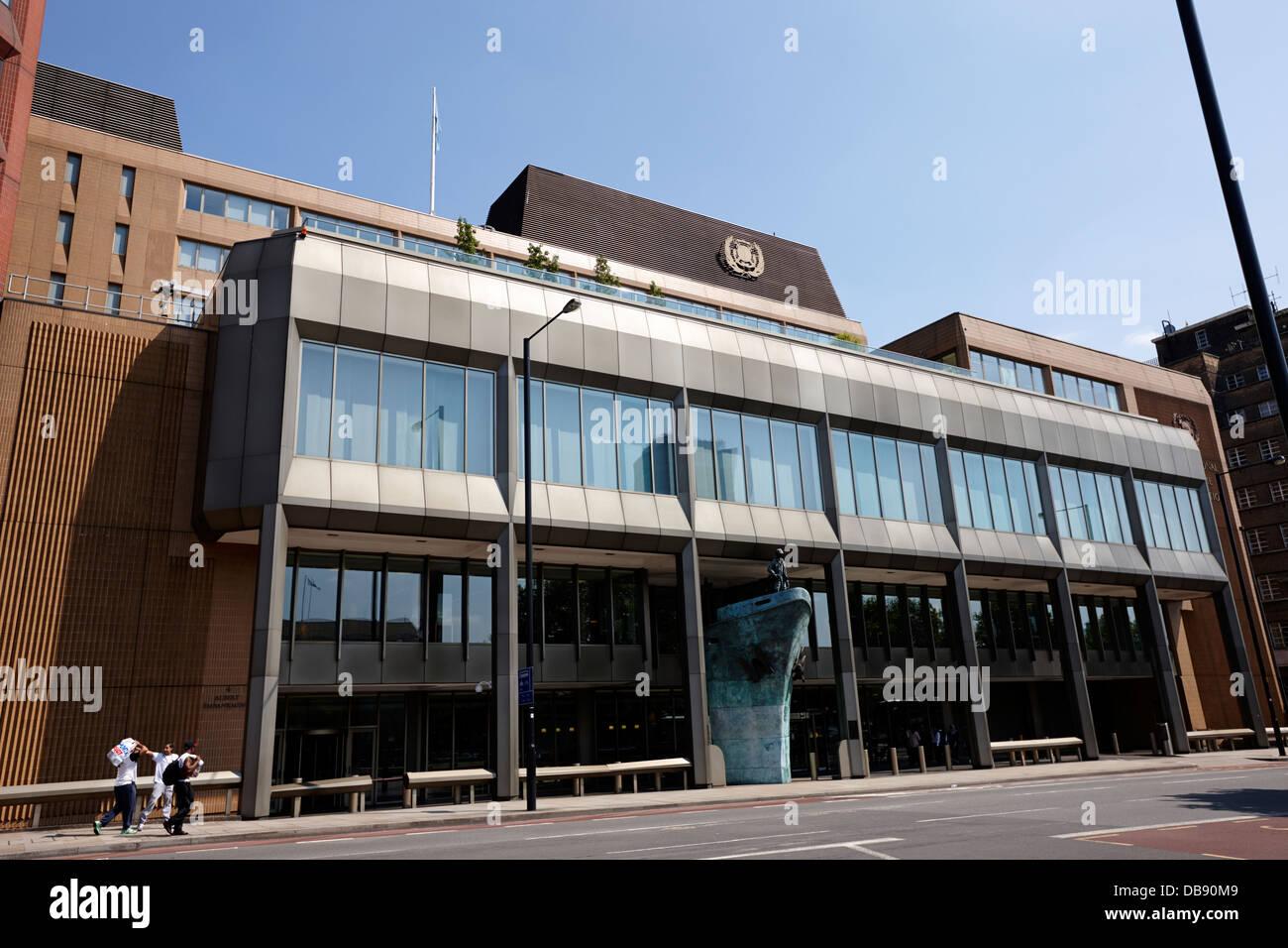 International Maritime Organisation headquarters London England UK - Stock Image