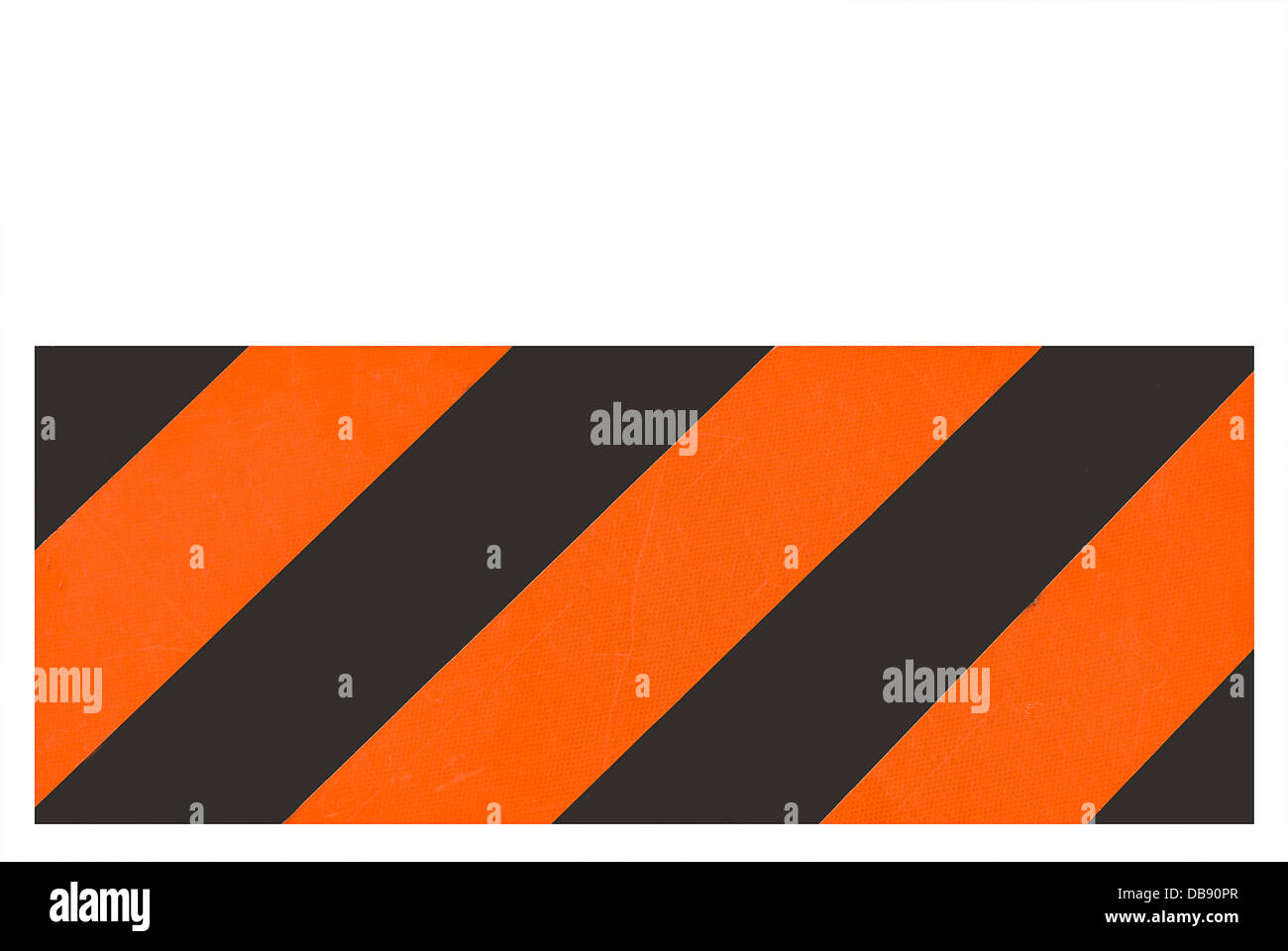 Road sign. Warning, road work on the way - Stock Image