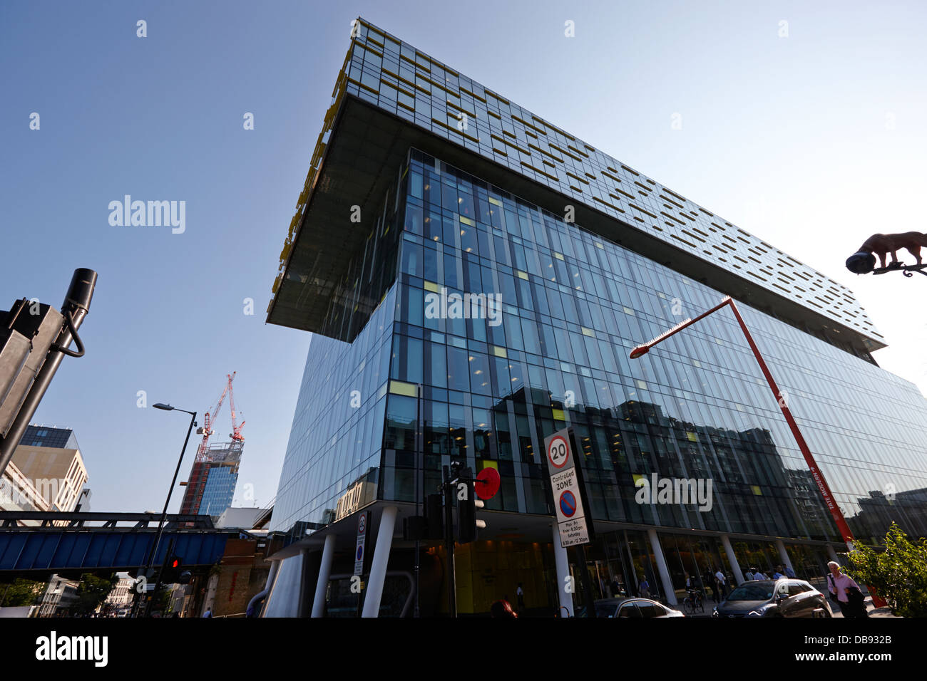 palestra building used by tfl transport for London England UK - Stock Image