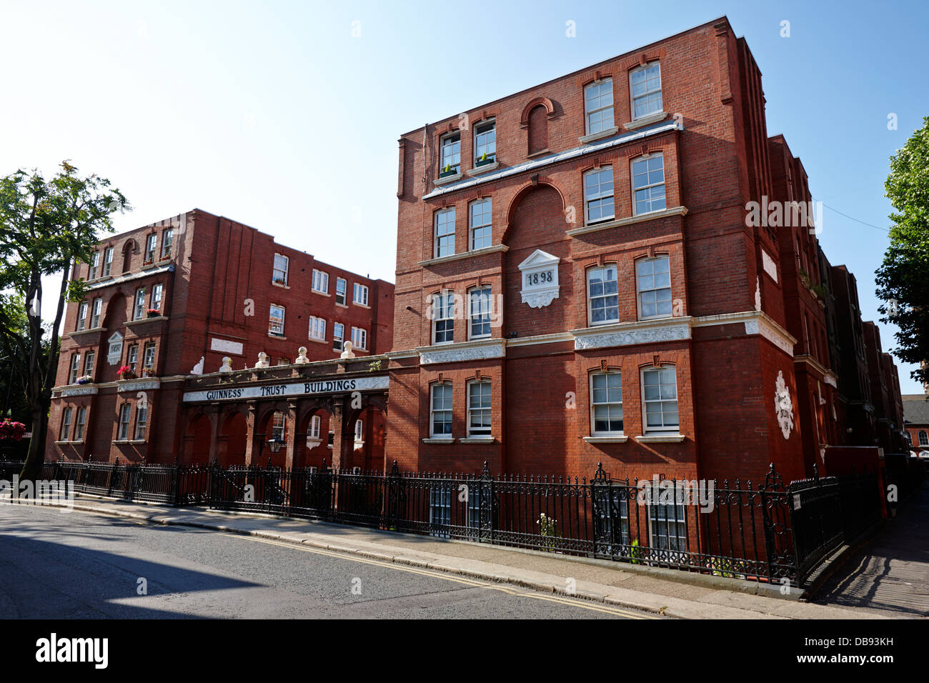 guinness trust buildings in snowsfields southwark London England UK - Stock Image