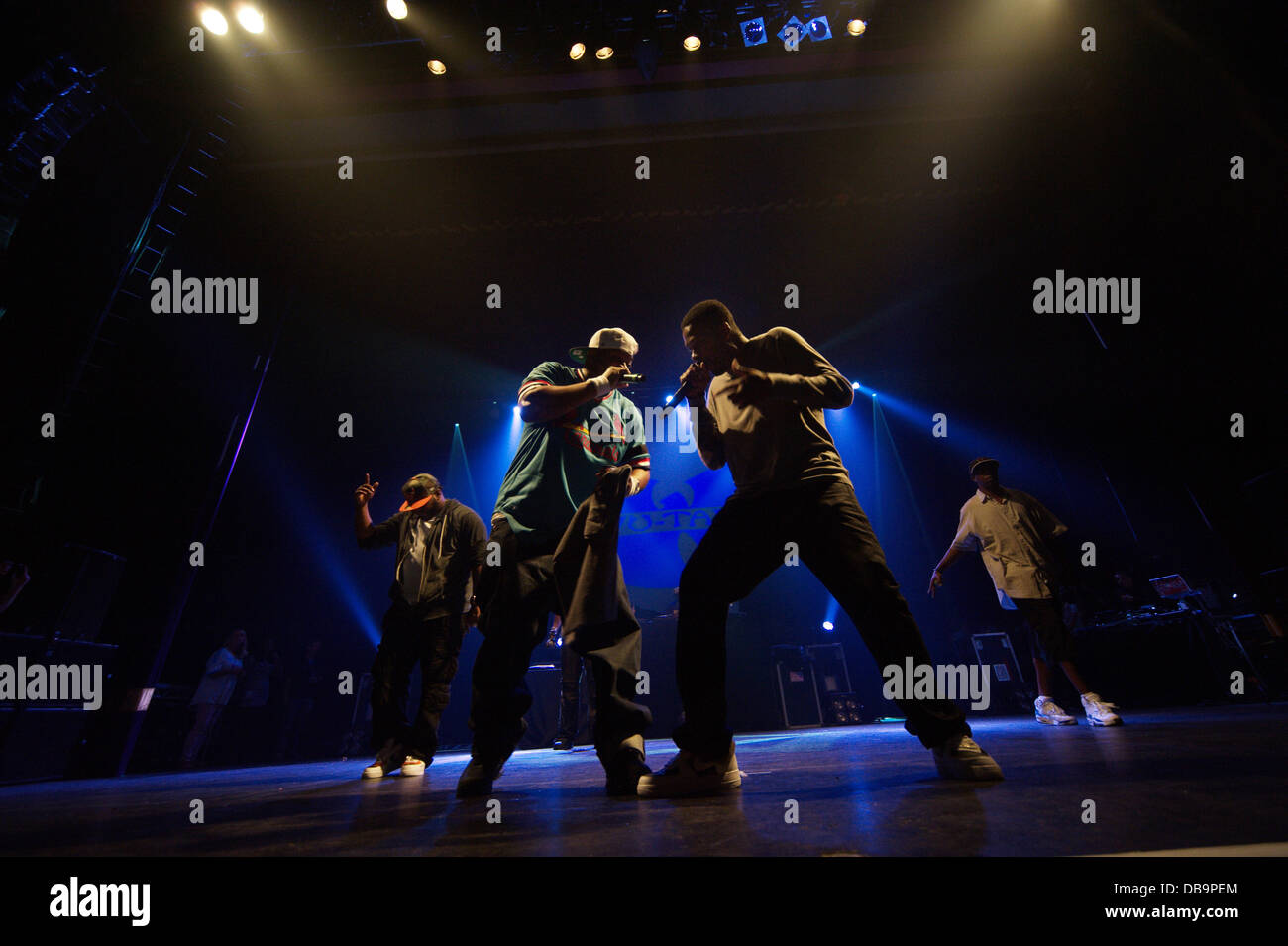 Manchester, UK. 25th July 2013. Wu-Tang Clan are back! The hip-hop legends to reunite for one-off dates in the UK - Stock Image