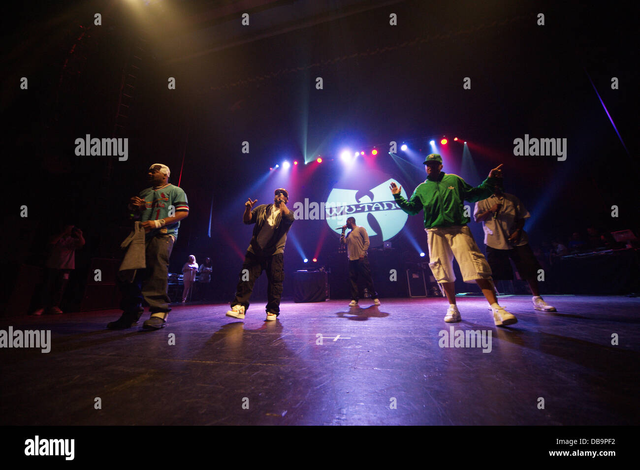 Manchester, UK  25th July 2013  Wu-Tang Clan are back! The