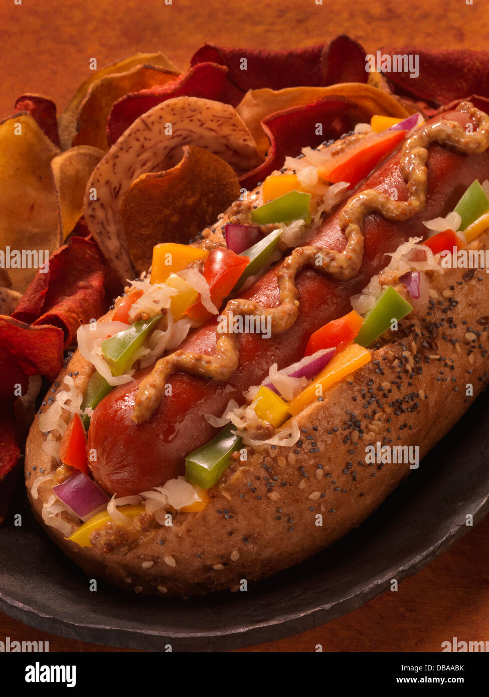Chicago Hot Dog Stock Photos Amp Chicago Hot Dog Stock