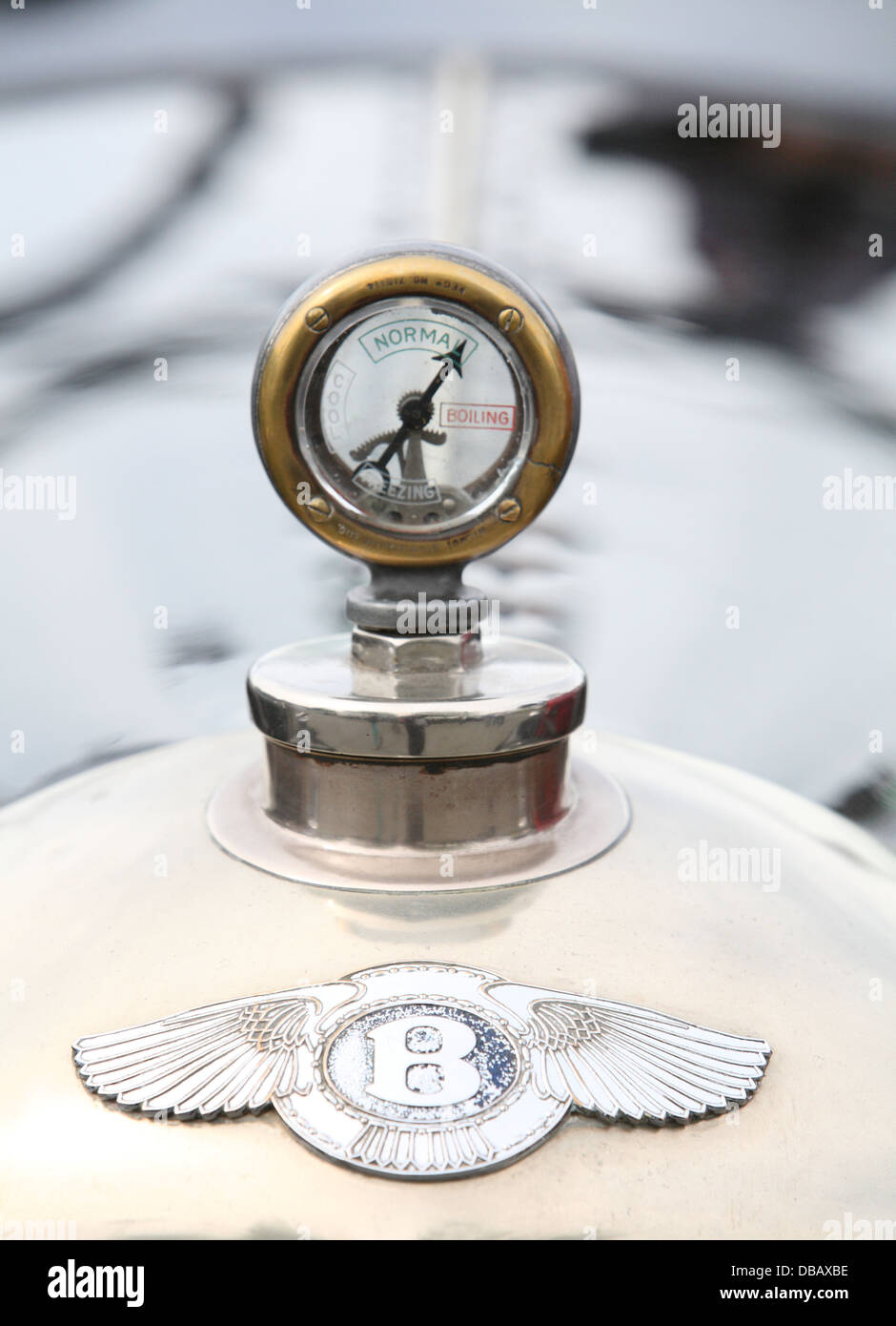 Bentley hood ornament - Stock Image