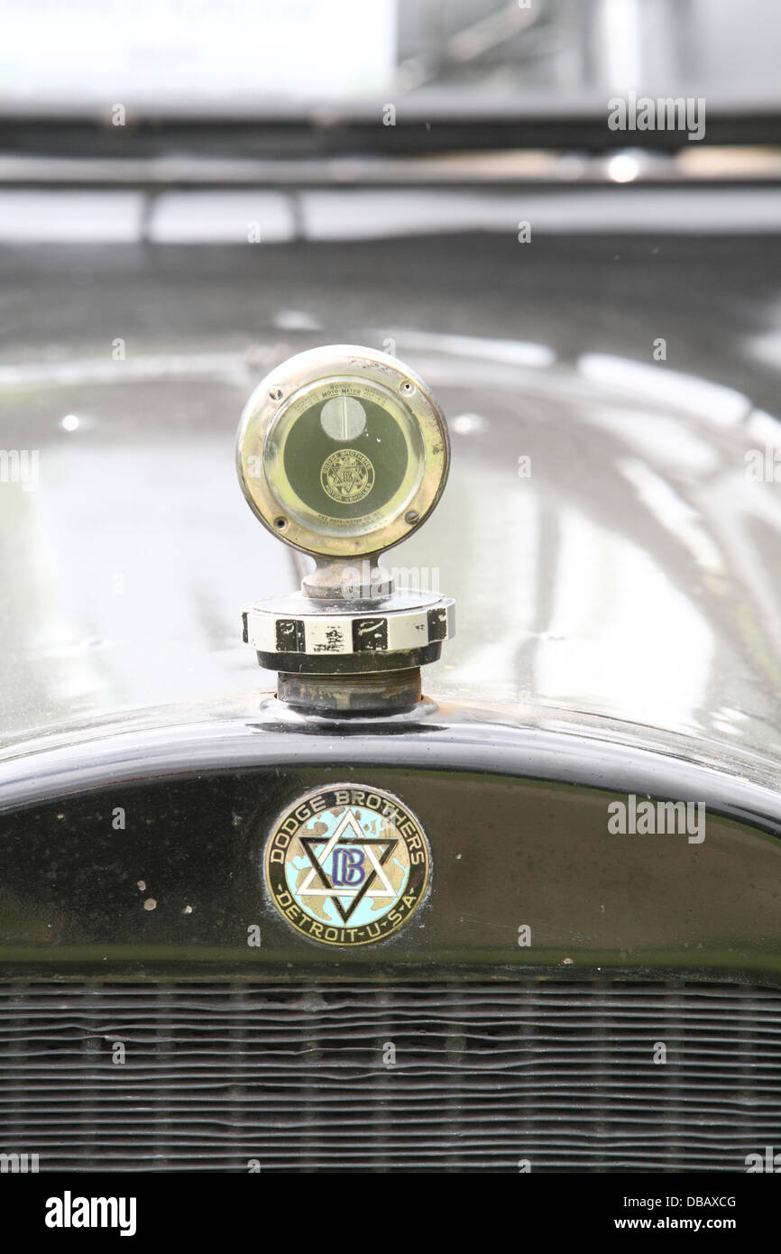 Dodge brothers motor Vehicles badge - Stock Image