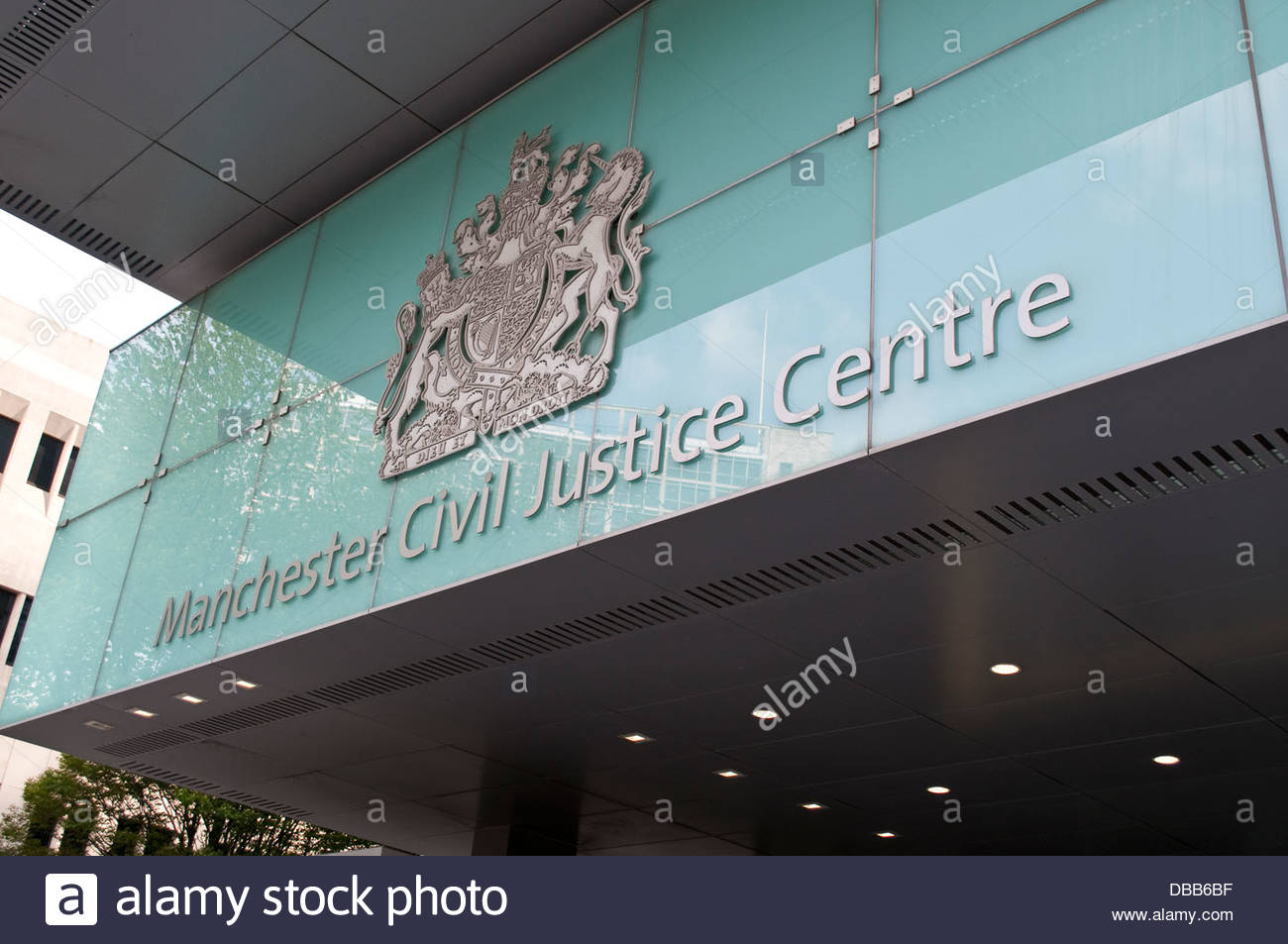 Manchester Civil Justice Centre, Manchester, UK - Stock Image