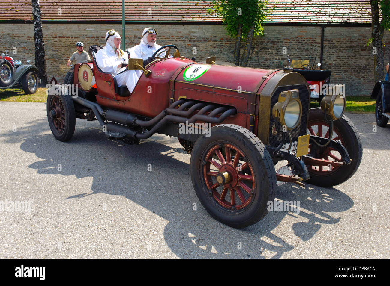 Oldtimer rallye for at least 80 years old antique cars with Stock ...