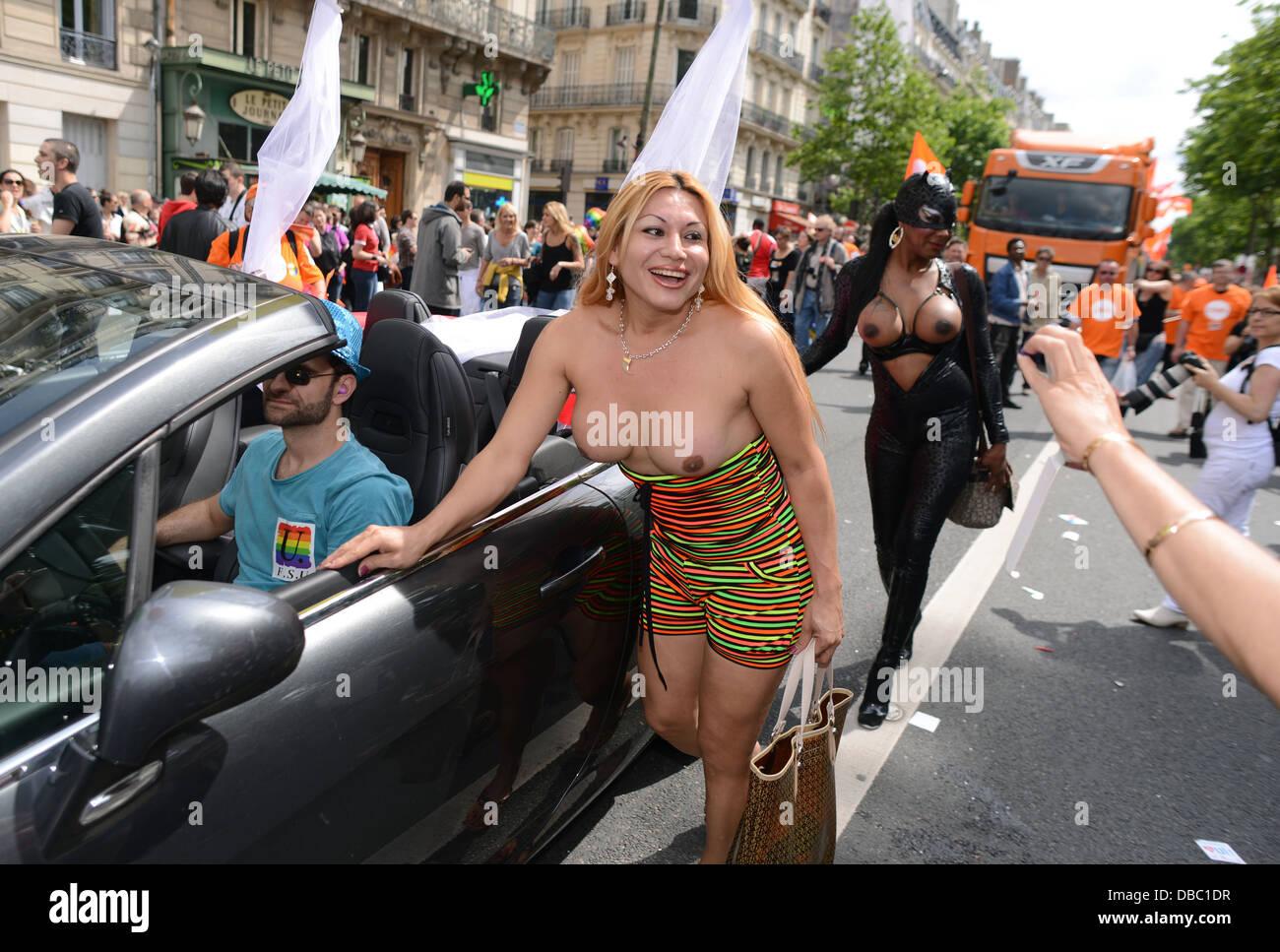 Gay parade in toronto