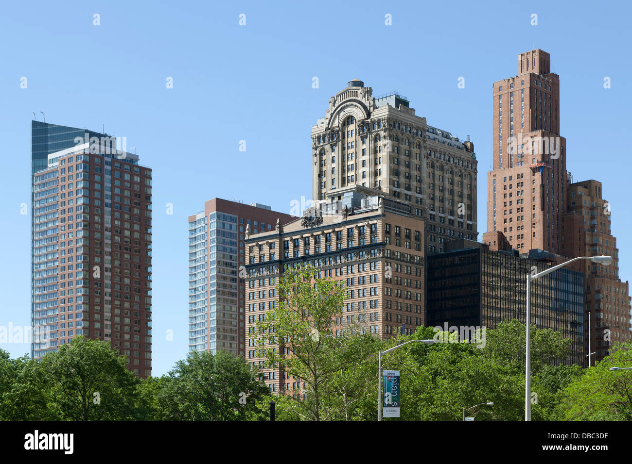 The Whitehall Building - 17 Battery Place NY in New York City - Stock Image