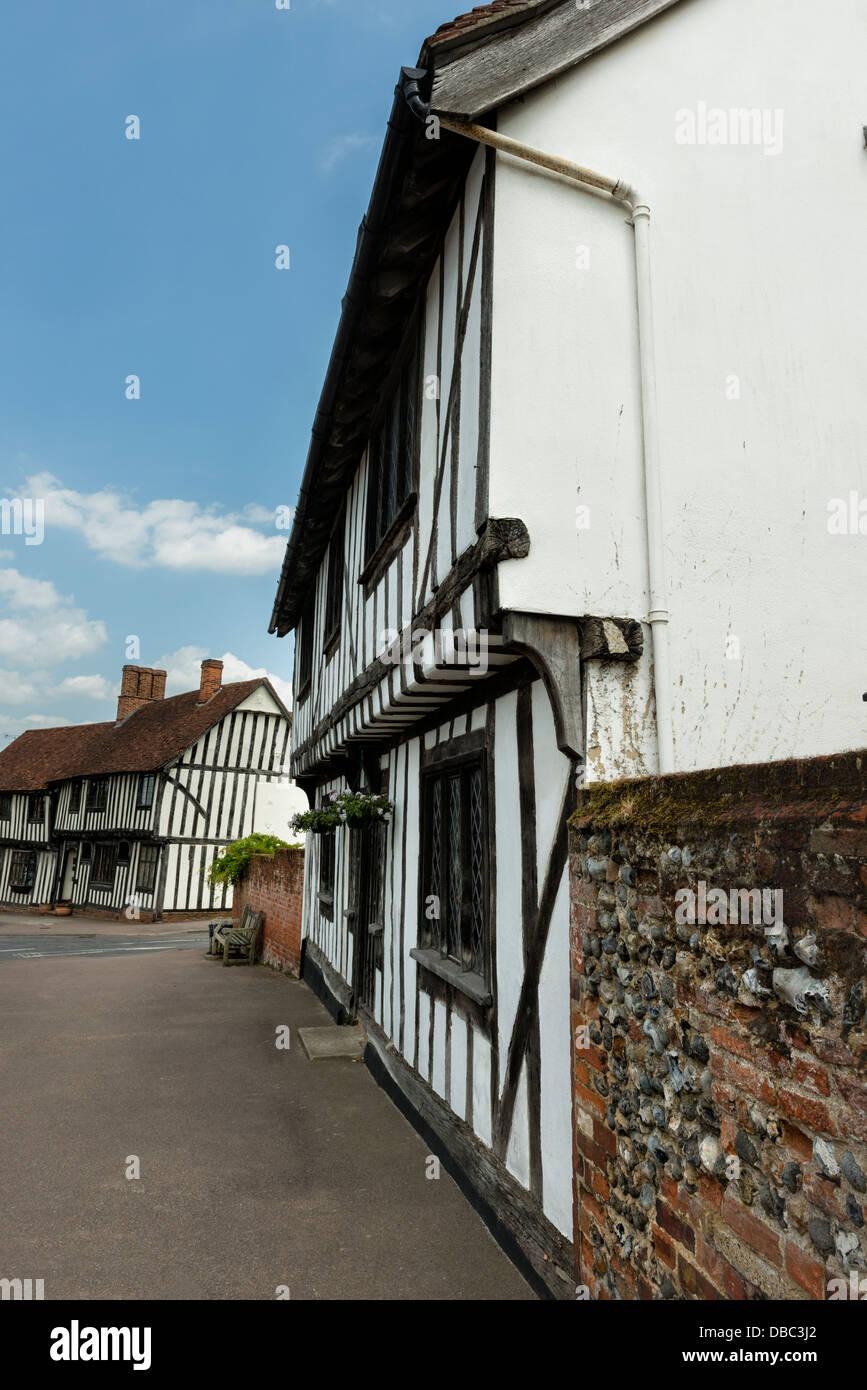 Lavenham - Stock Image