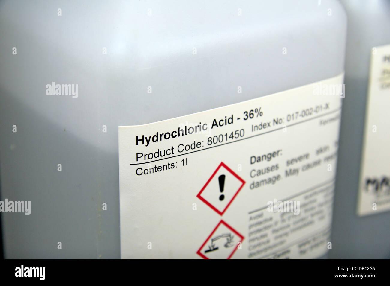 Hydrochloric Acid Stock Photos Hydrochloric Acid Stock Images Alamy