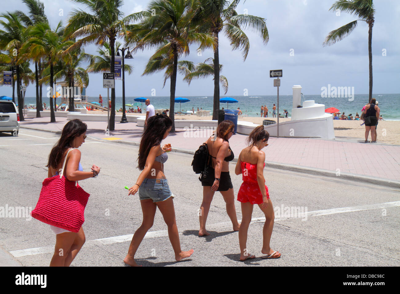 Are not teen girls crossing florida