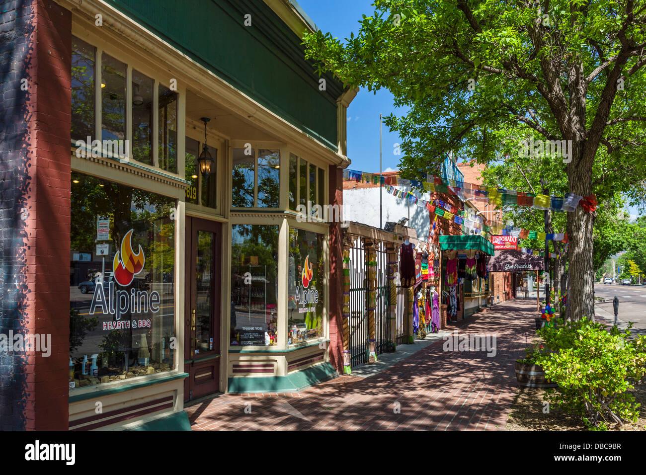 City Of Colorado Springs >> Shops On W Colorado Ave In Old Colorado City Colorado