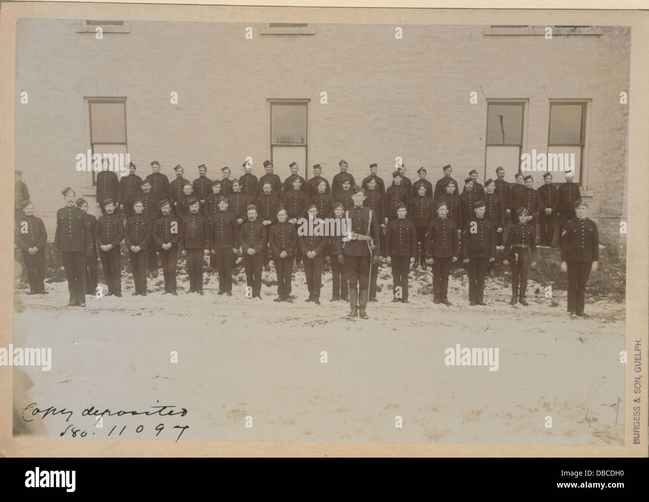 Members of Guelph contingent - South African war (HS85-10-11097) - Stock Image