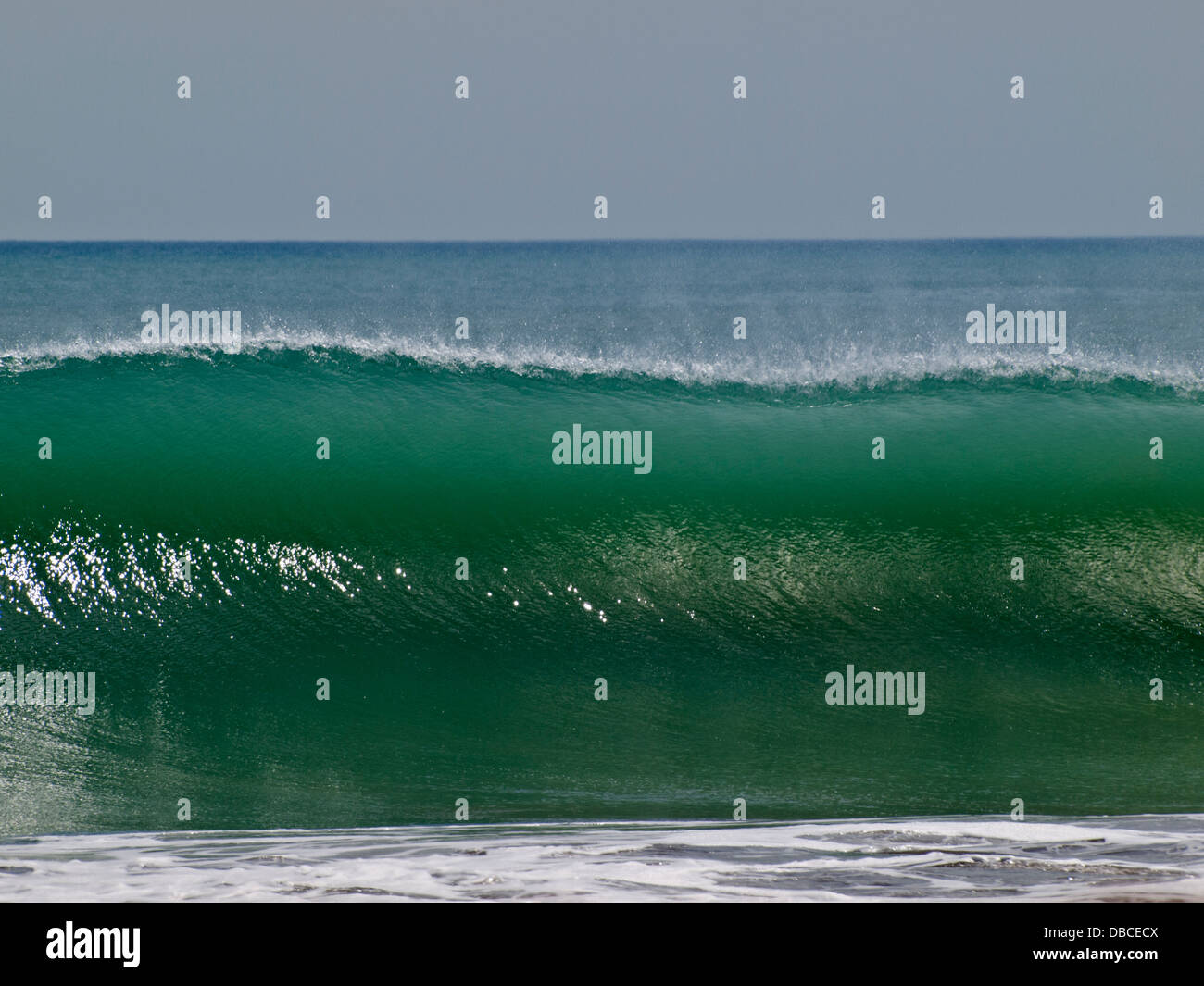 wave crest before crashing stock photo 58667082 alamy
