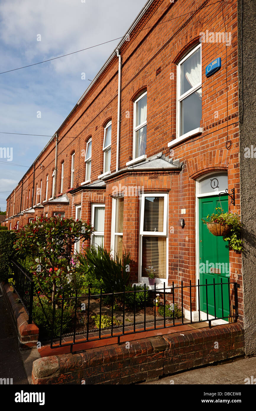 High Quality Victorian Red Brick Terraced Homes In Belfast Northern Ireland Uk