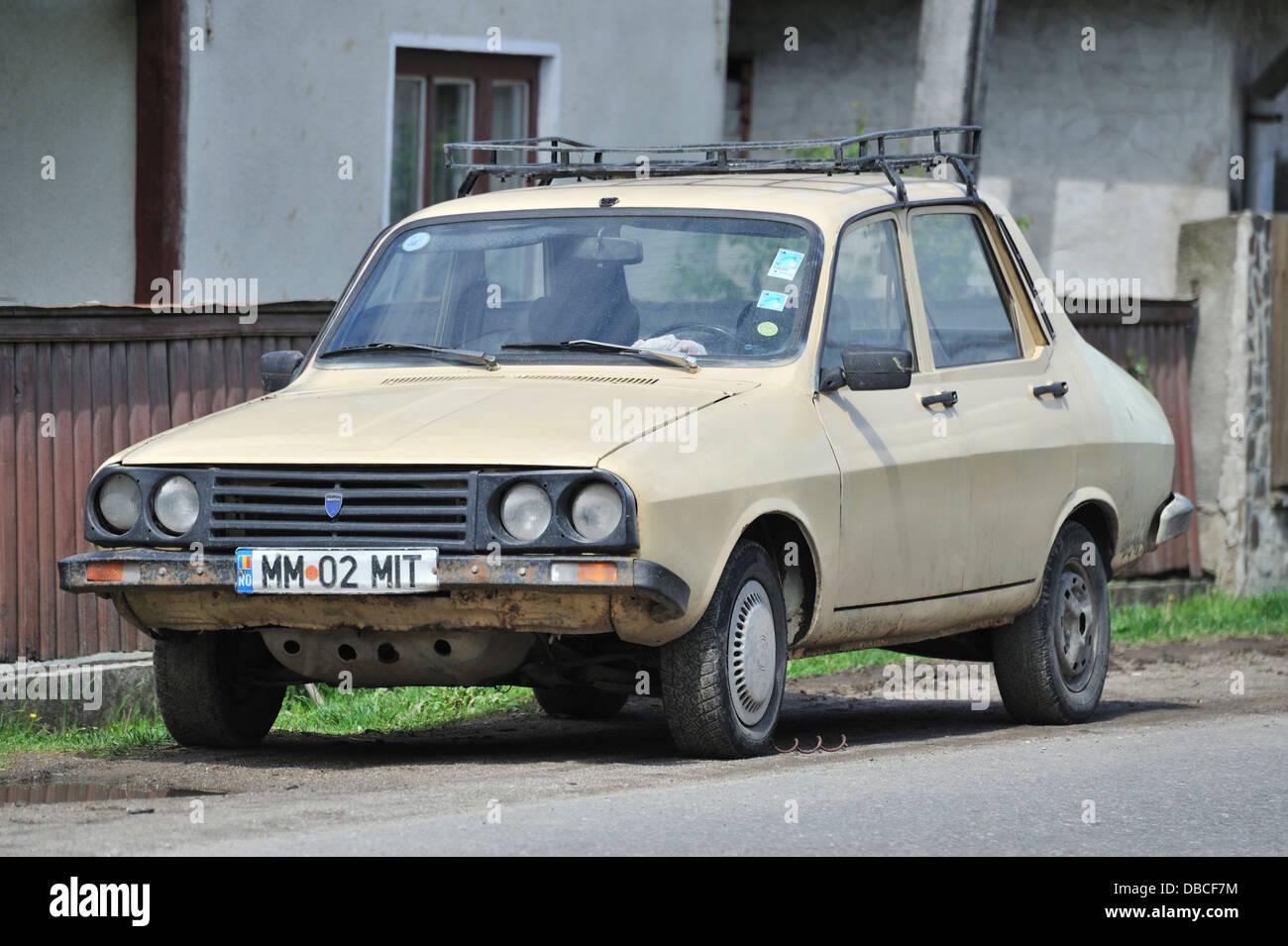 Old Dacia car, Romania Stock Photo: 58667720 - Alamy
