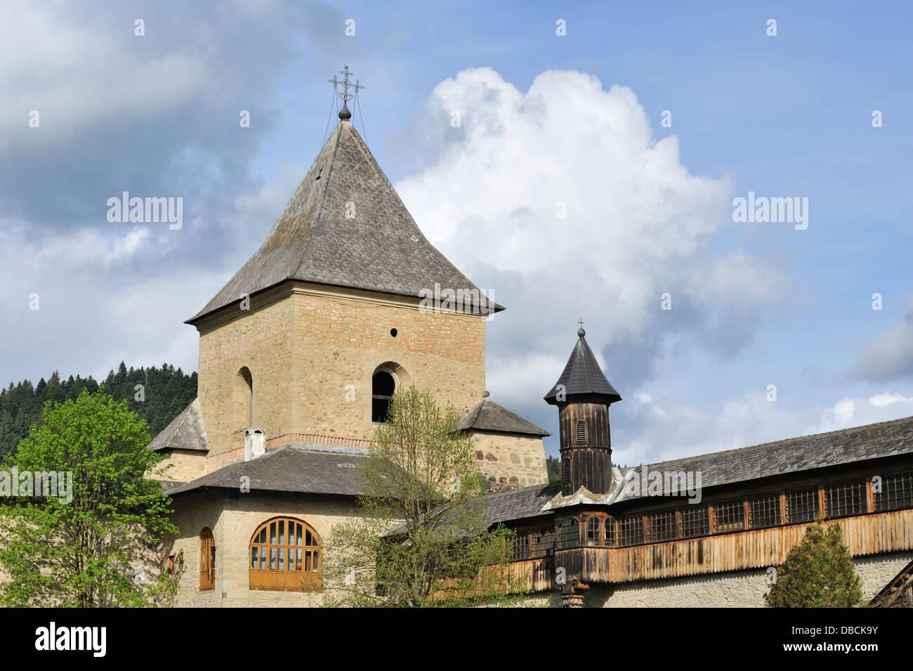 Sucevita monastery, Bukovina, Romania - Stock Image