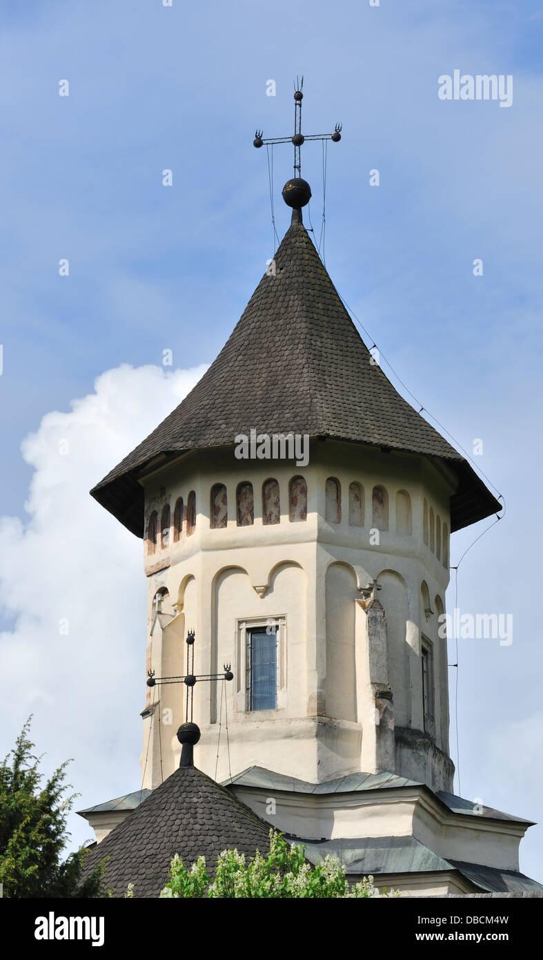 Moldovita Monastery, Bukovina, Romania - Stock Image