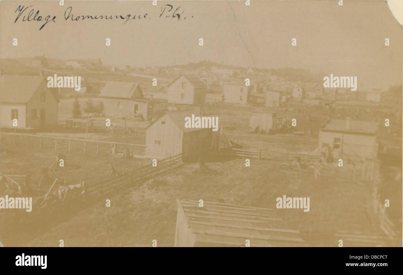 Village Nominingue, PQ (HS85-10-19365) - Stock Image