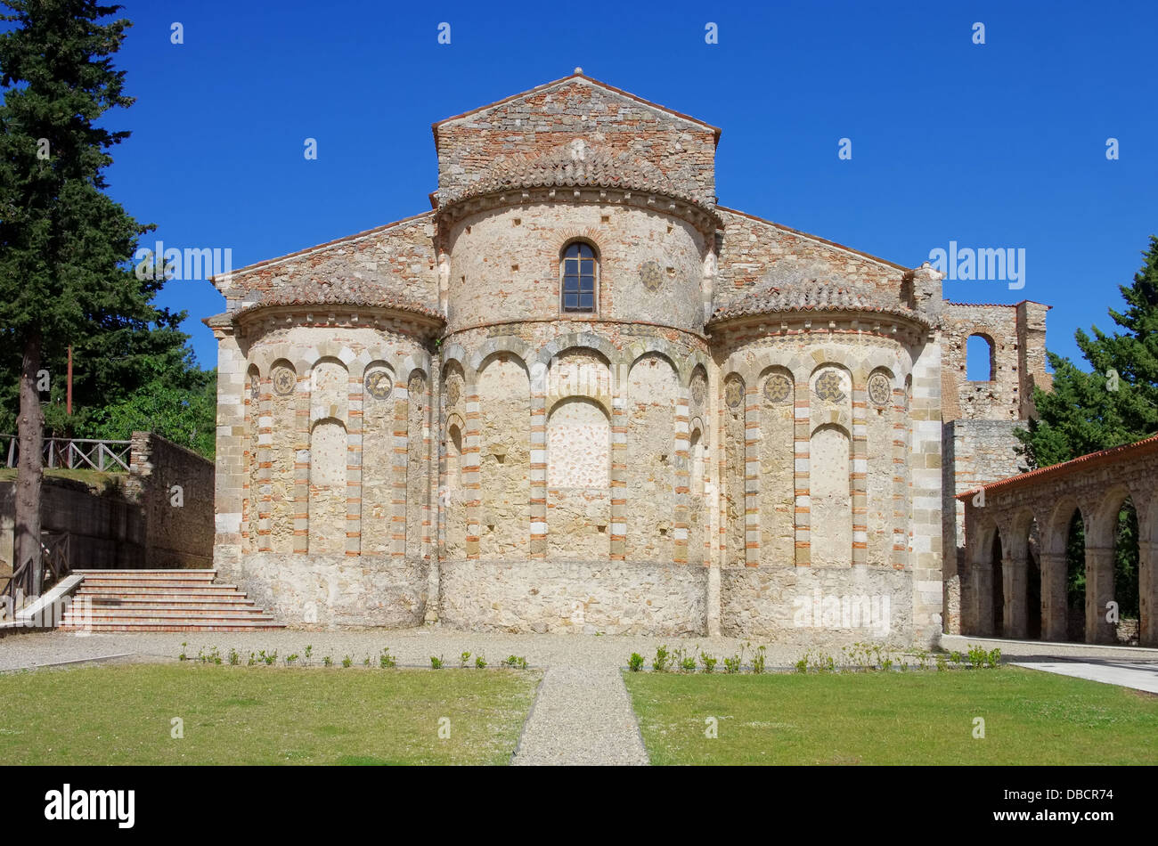 Rossano Santa Maria del Patire 01 Stock Photo