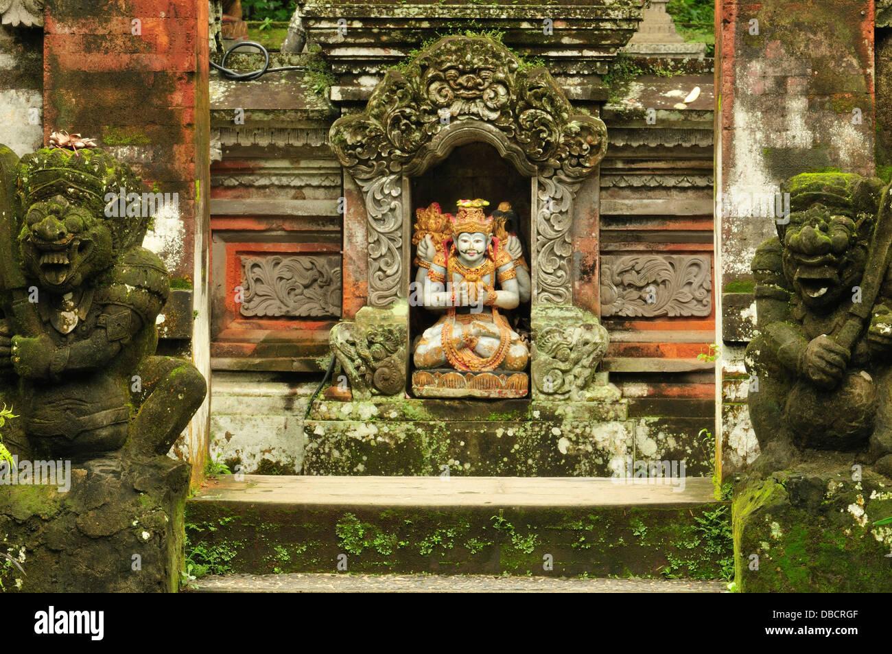Pura Gunung Lebah Temple, Ubud, Bali, Indonesia, Asia - Stock Image