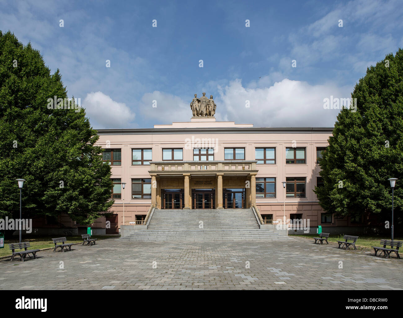 Faculty of Medicine and Dentistry of Palacky University in Olomouc - Stock Image