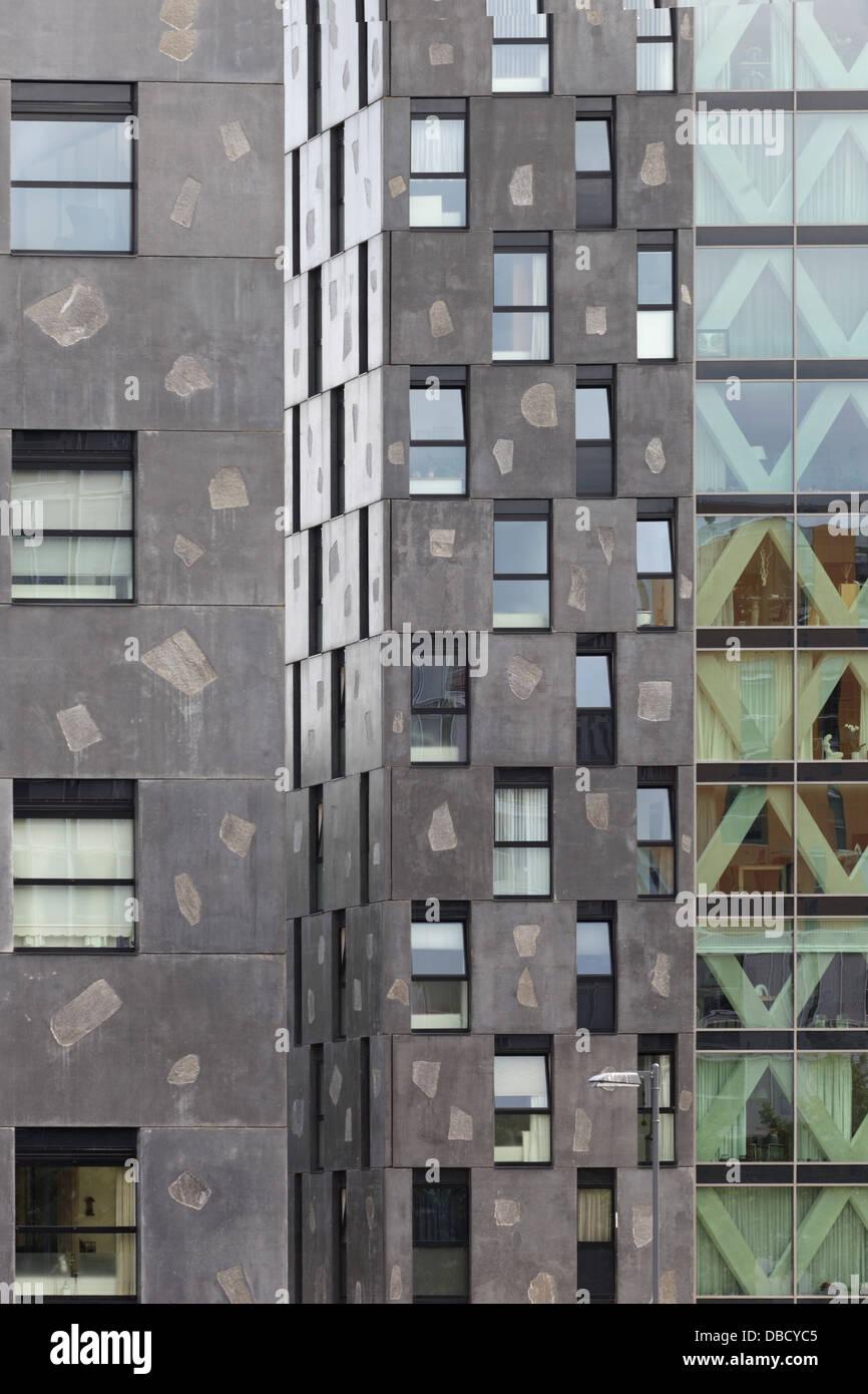 Chasse Park Housing, Breda, Netherlands. Architect: OMA, 2001. - Stock Image